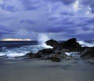 S模式摄影  Paio海滩 免版税库存照片
