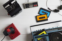 80s激情 免版税图库摄影