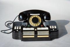 主任` s电话对插孔CD-6 图库摄影