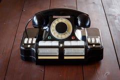 主任` s电话对插孔CD-6 免版税库存图片