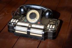 主任` s电话对插孔CD-6 免版税库存照片