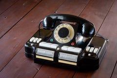 主任` s电话对插孔CD-6 库存图片