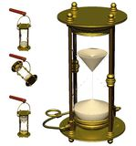 s船定时器手表 库存照片