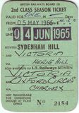 1960年` s英国车票细节  库存照片
