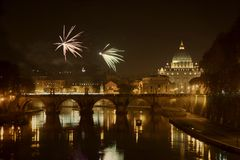 ` S Ève, Ville du Vatican de nouvelle année Photo libre de droits