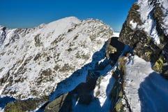 S'élever à la tri montagne de Kopy photographie stock libre de droits