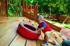 S'élever d'enfants Photo stock
