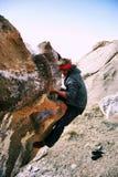 S'élever de Boulder Photo libre de droits
