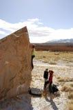 S'élever de Boulder Images stock