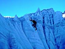 S'élever de glace photographie stock libre de droits