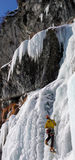 S'élever de glace photo libre de droits