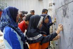 S'élever de mur photos libres de droits