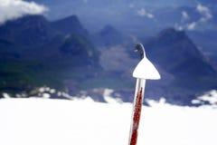 S'élever de volcan Photos libres de droits