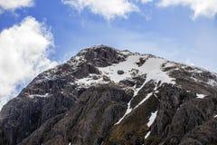 S'élever, marcher et skiiing en Glen Coe dans les montagnes de l'Ecosse photographie stock