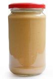Słój crunchy arachidowy butte Zdjęcie Royalty Free