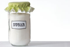 Słój cukier Obraz Stock