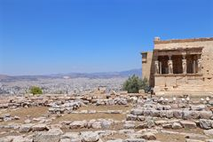 s świątyni afrodyty Zdjęcie Royalty Free