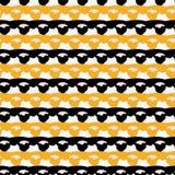 1960s вводят картину в моду вектора нашивок отделки ленты шнурка безшовную бесплатная иллюстрация