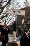 ` S март женщин Энн Арбор Мичигана 2018 Стоковая Фотография RF