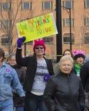 ` S март 2018 женщин Hartford Стоковое Изображение RF