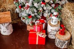 ` S Нового Года и рождество стоковое фото