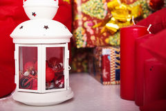 ` S Нового Года и состав рождества стоковые изображения