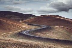 S-образная дорога стоковое фото