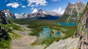 ` S птицы Hara ` озера и озера o Mary наблюдает взгляд Стоковая Фотография