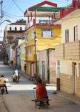 ` S Сантьяго-де-Куба - поставщик воды Стоковое фото RF