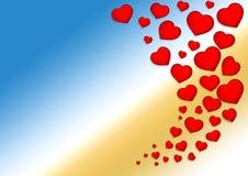 ` S сердца Стоковое Изображение