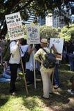 ` S Сидней -го - Австралия -го март женщин, Стоковые Изображения