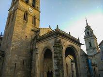 ` S Собор Catedral de Санта MarÃa de Луго или волочение St Mary стоковая фотография rf