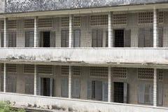 S21 тюрьма, музей геноцида Стоковое Фото
