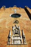 S Церковь Apollinare, детали, в Венеции, Италия Стоковые Изображения RF