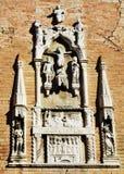 S Церковь Apollinare, деталь, в Венеции, Италия Стоковые Фото