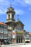 S.佩德罗Church,吉马良斯,葡萄牙 免版税库存照片