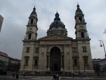 圣斯蒂芬的大教堂在布达佩斯 免版税库存图片