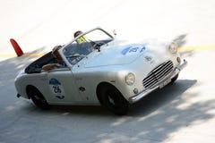1951 S 我 A T A 在Mille Miglia的Amica 免版税库存图片