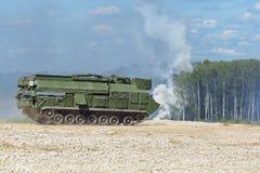 S-300机动性雷达 库存照片