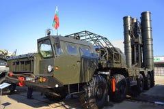 S-300防空导弹系统 库存照片