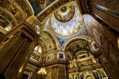 Церковь собора ` s Исаак Святого стоковые изображения