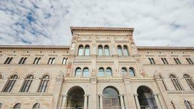 斯德哥尔摩,瑞典, 2018年7月:瑞典的国家博物馆的大厦是艺术瑞典` s最大的博物馆  免版税库存照片