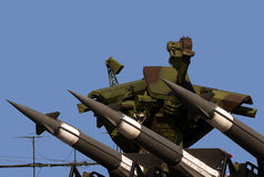 S-125M Neva-M rocket system Stock Photography