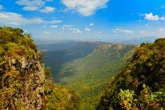 окно бога s Африки южное Стоковая Фотография