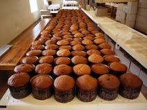 庆祝,烹调蛋糕 复活节 它` s春天 基督 免版税图库摄影