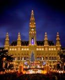 市政厅s维也纳 免版税库存照片