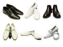 ботинки человека s Стоковое фото RF