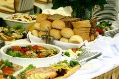 еда s доставки с обслуживанием Стоковое Фото