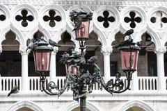 圣马克家长式大教堂大教堂在广场S的 库存图片