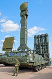 S-300V launcher vehicle Stock Photos